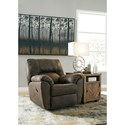 Signature Design by Ashley Tambo Casual Contemporary Rocker Recliner