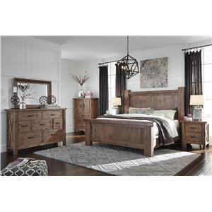 Signature Design by Ashley Tamilo California King Bedroom Group