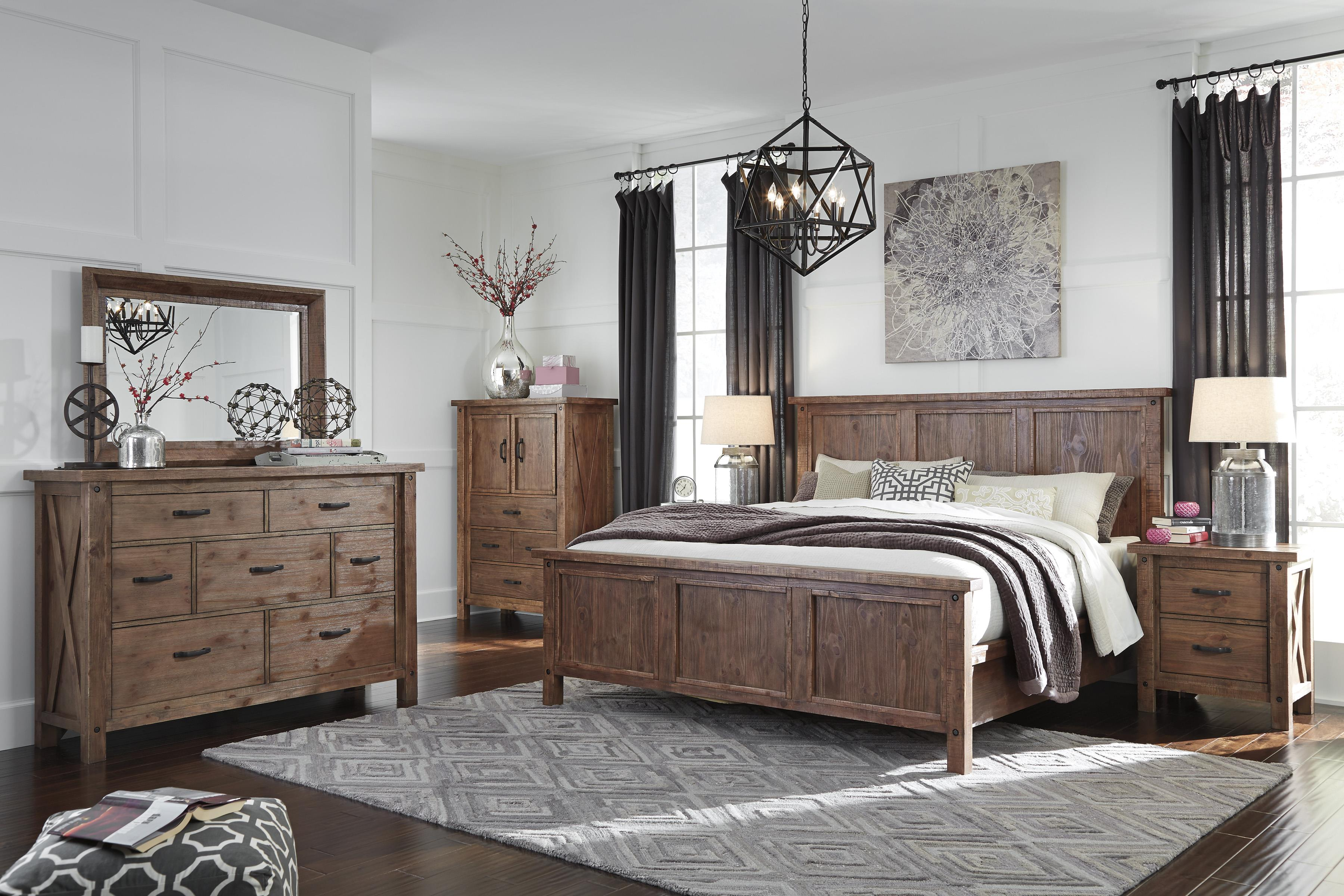 Signature Design by Ashley Tamilo King Bedroom Group - Item Number: B714 K Bedroom Group 1