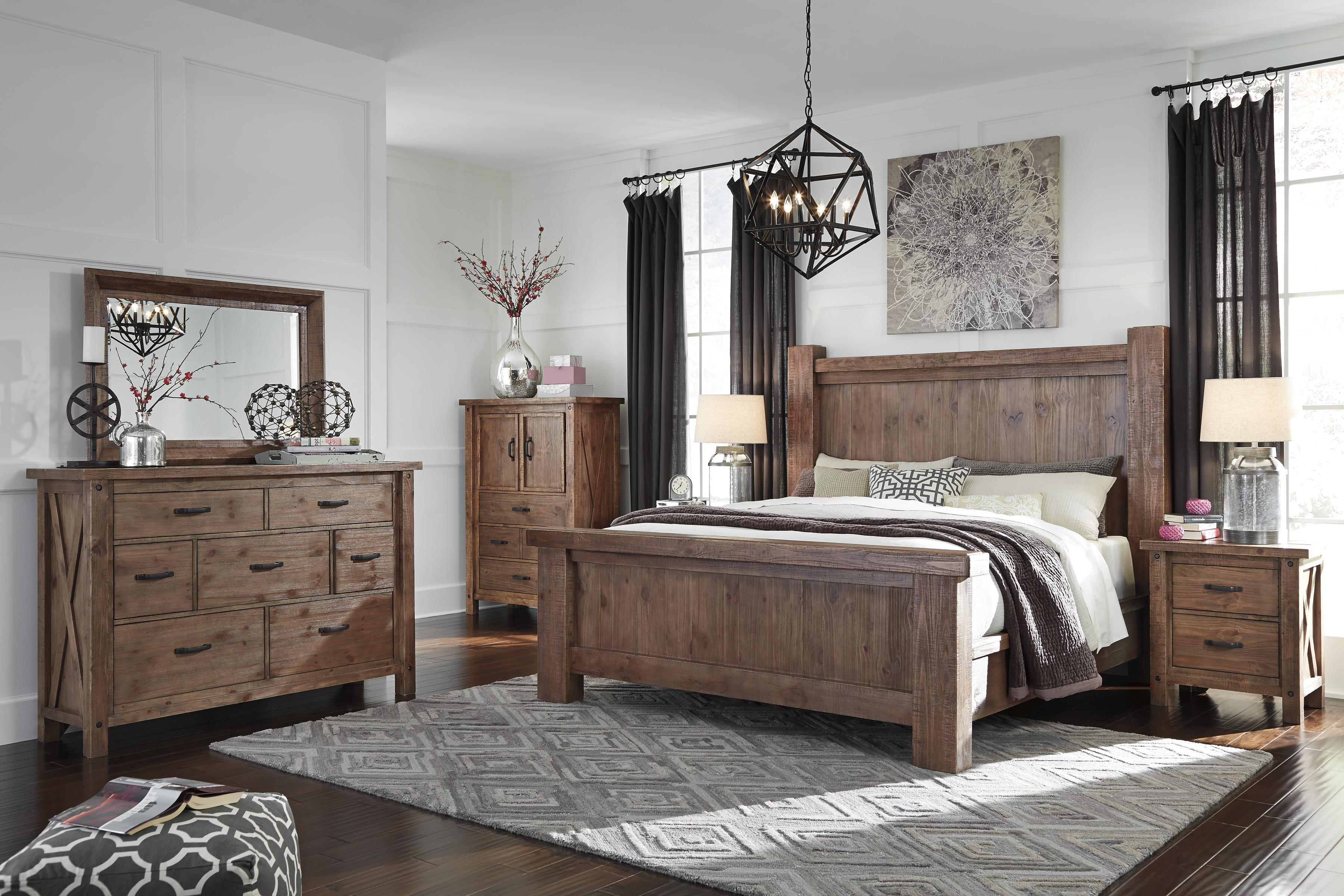 Signature Design by Ashley Tamilo King Bedroom Group - Item Number: B714 K Bedroom Group 2