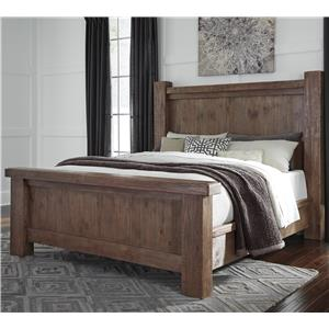 Signature Design by Ashley Tamilo California King Wood Poster Bed