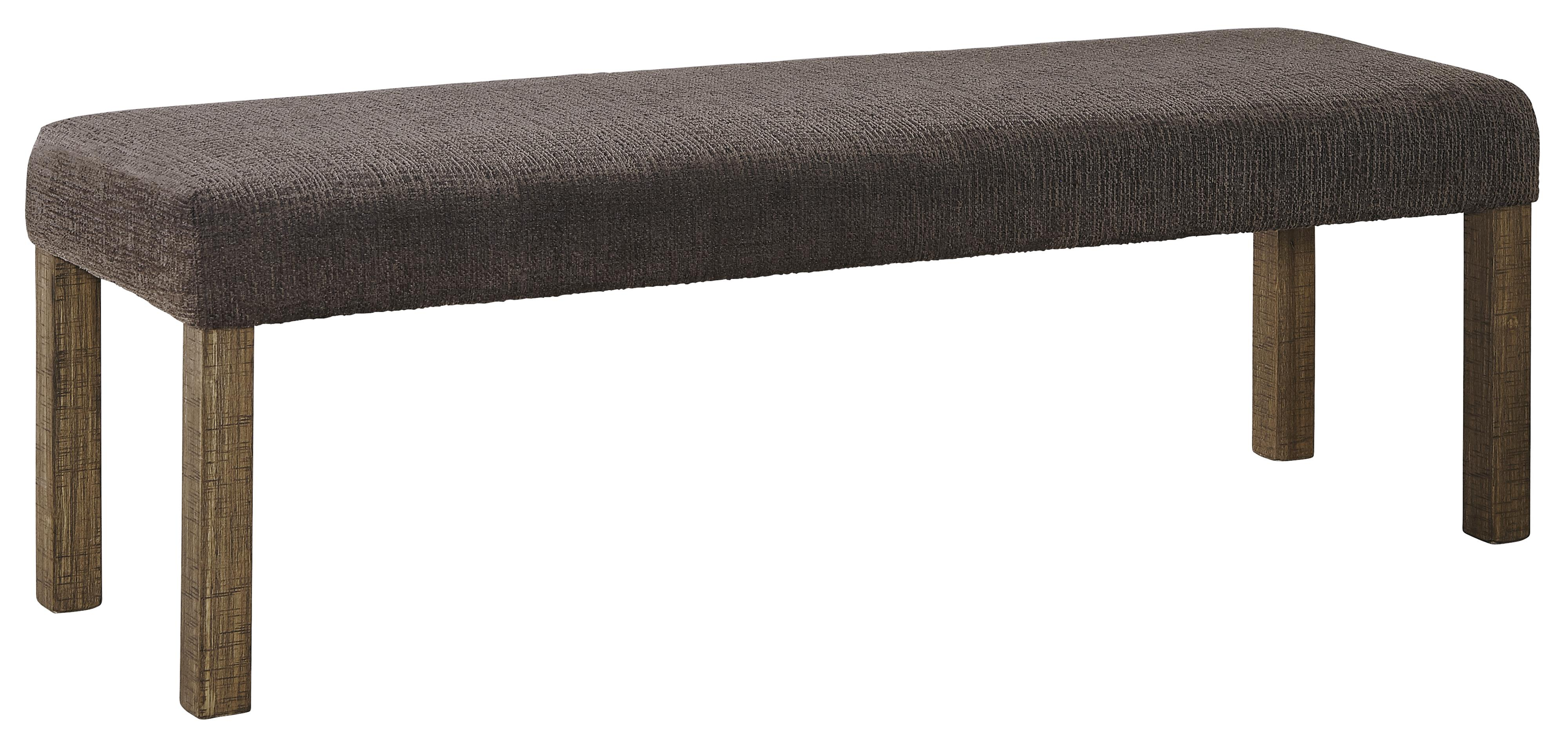 Signature Design by Ashley Tamilo Large Upholstered Dining Room Bench - Item Number: D714-00