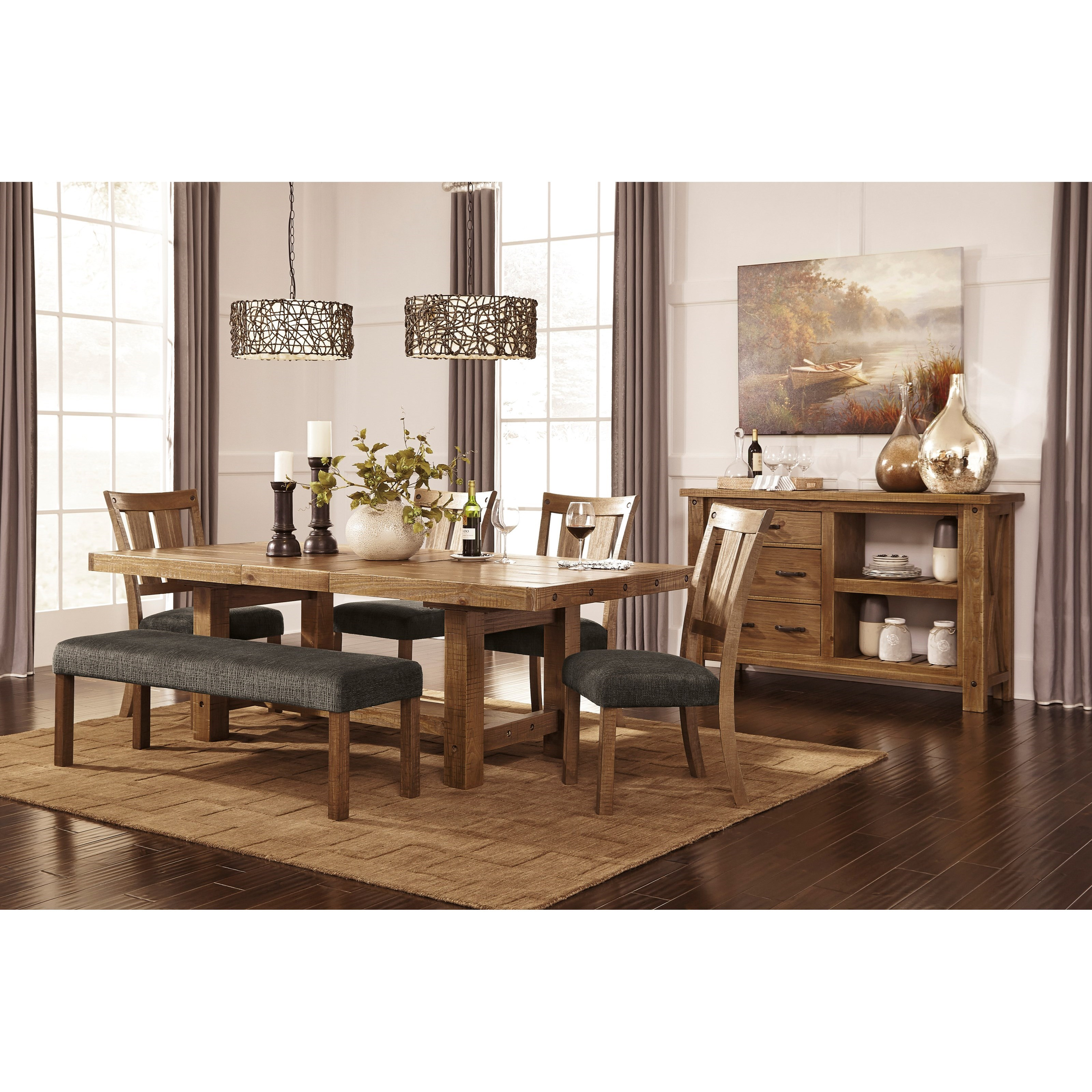 Ashley S Nest Decorating A Dining Room: Signature Design By Ashley Tamilo D714-00 Large