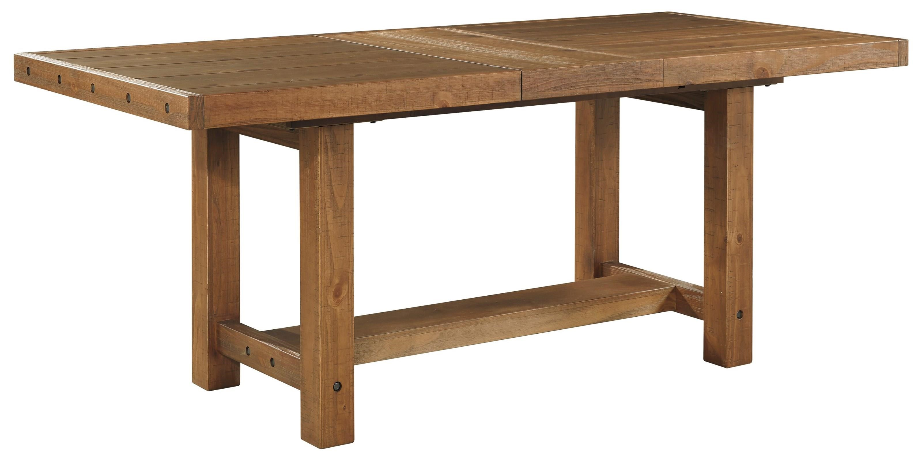 Signature Design by Ashley Tamilo Rectangle Dining Room Counter Table - Item Number: D714-32