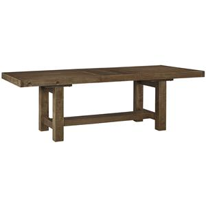 StyleLine Angus Rectangle Dining Room Extension Table