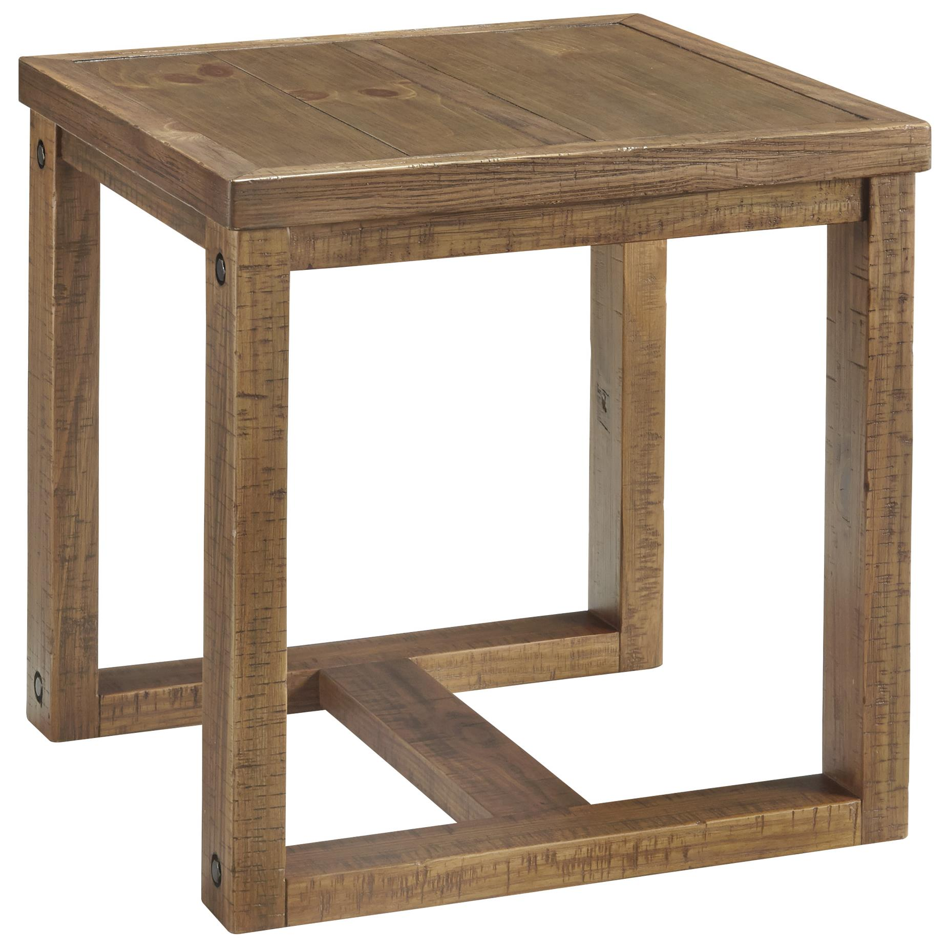 Signature Design by Ashley Tamilo Square End Table - Item Number: T715-2