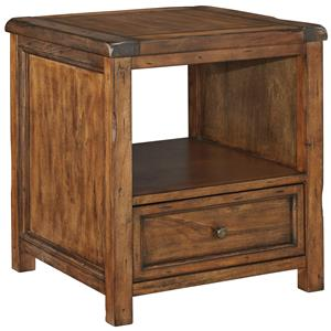 Signature Design by Ashley Tamonie Square End Table