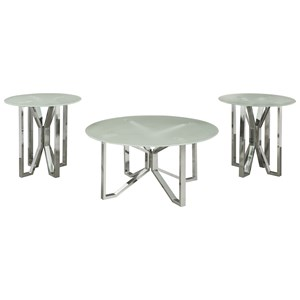 Signature Design by Ashley Tangeline 3 Piece Occasional Table Set