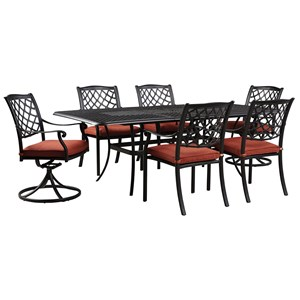 Ashley (Signature Design) Tanglevale Outdoor Dining Table Set