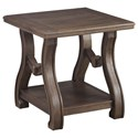 Signature Design by Ashley Tanobay Square End Table - Item Number: T046-2