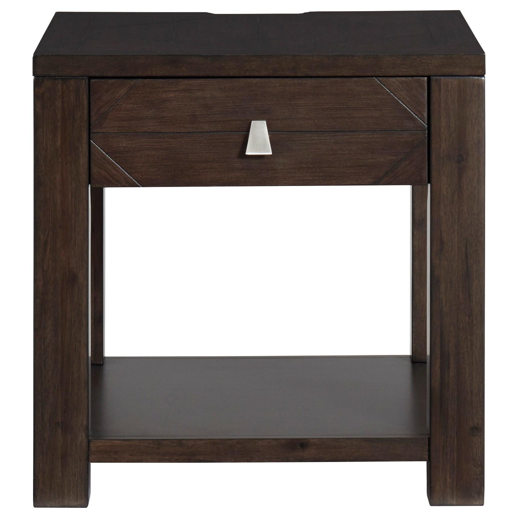 Tariland Square End Table by Signature Design by Ashley at Beck's Furniture