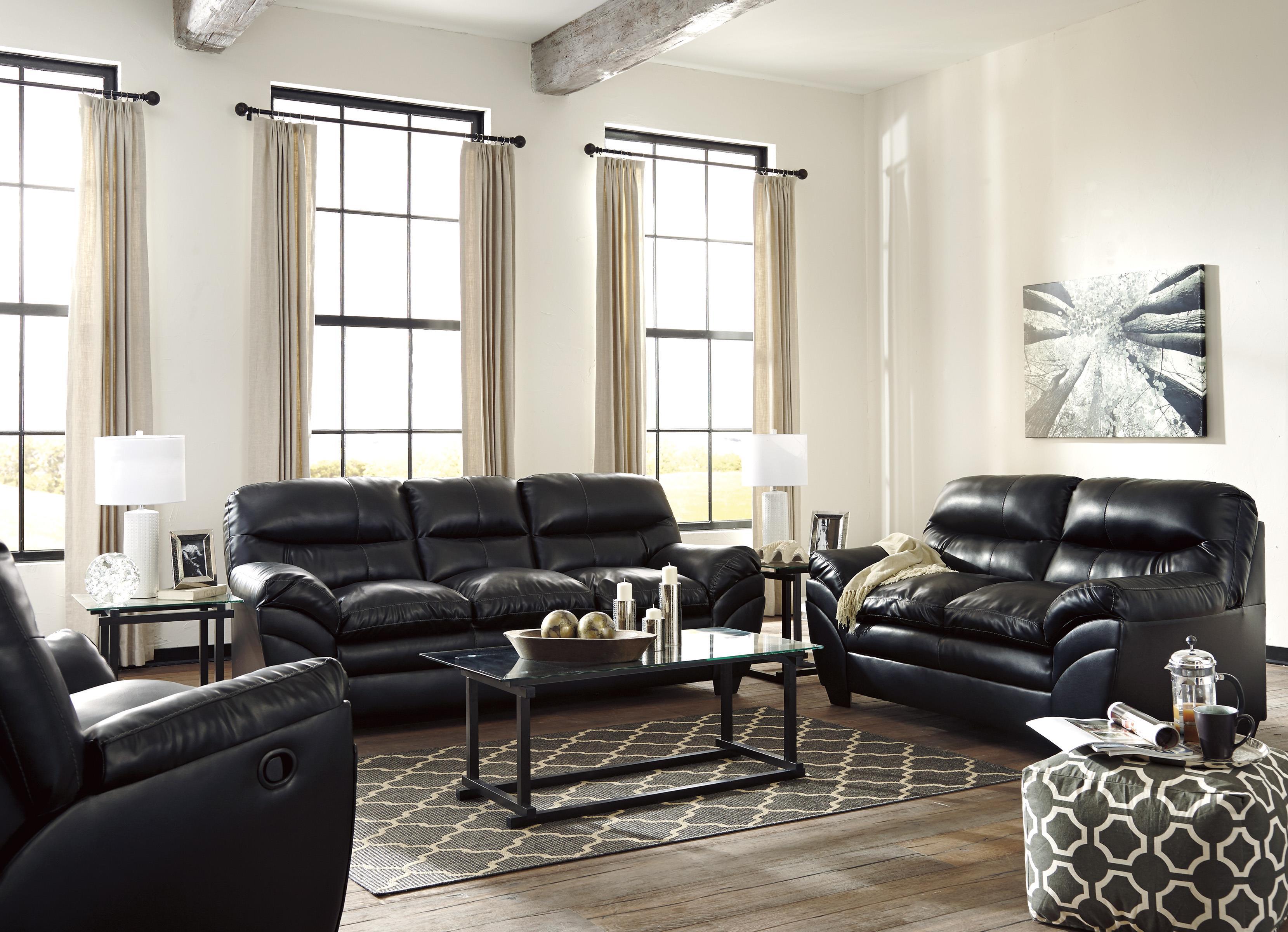 Signature Design by Ashley Tassler DuraBlend® Stationary Living Room Group - Item Number: 46501 Living Room Group 3