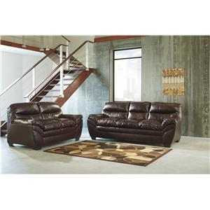 Ashley (Signature Design) Tassler DuraBlend® Stationary Living Room Group