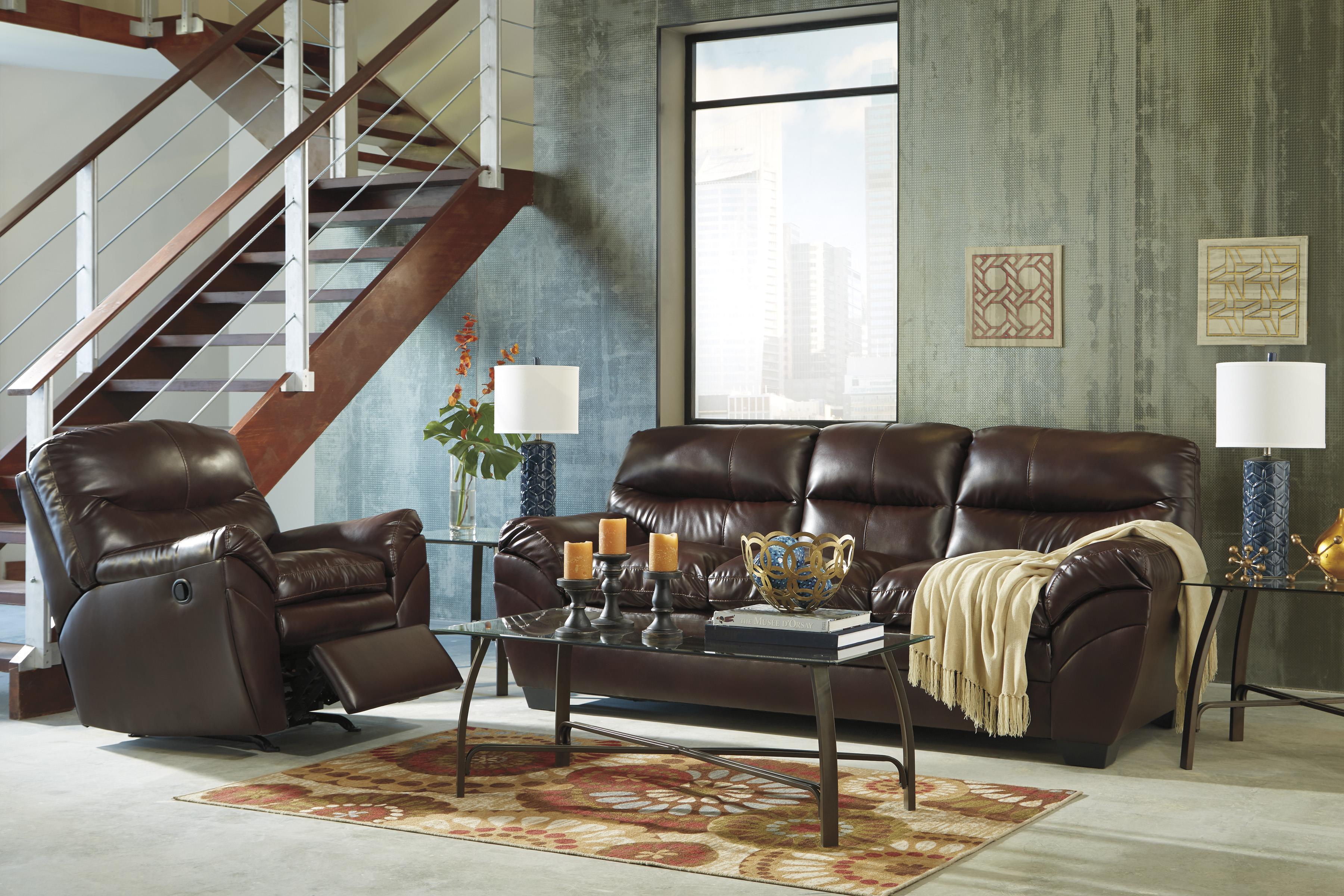 Signature Design by Ashley Tassler DuraBlend® Stationary Living Room Group - Item Number: 46502 Living Room Group 2