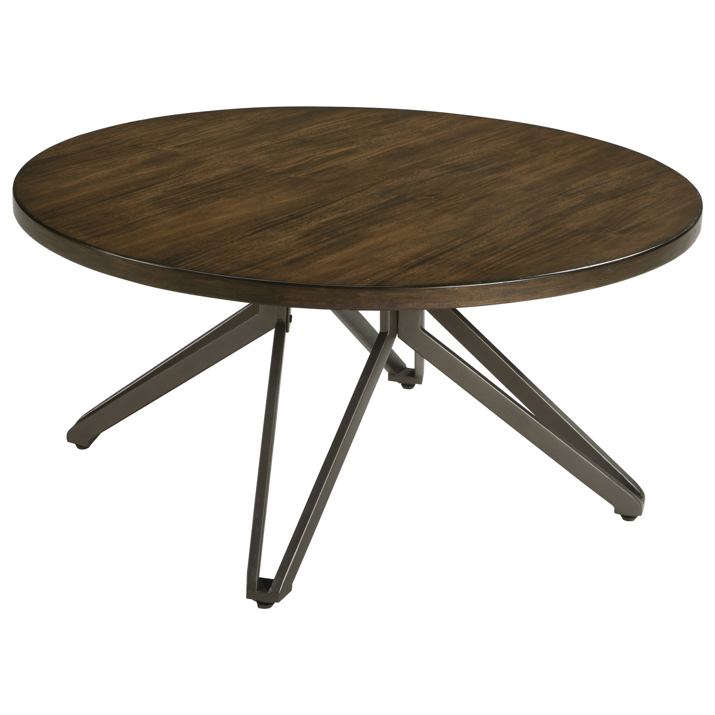 Signature Design by Ashley Tavonni Round Cocktail Table - Item Number: T476-8