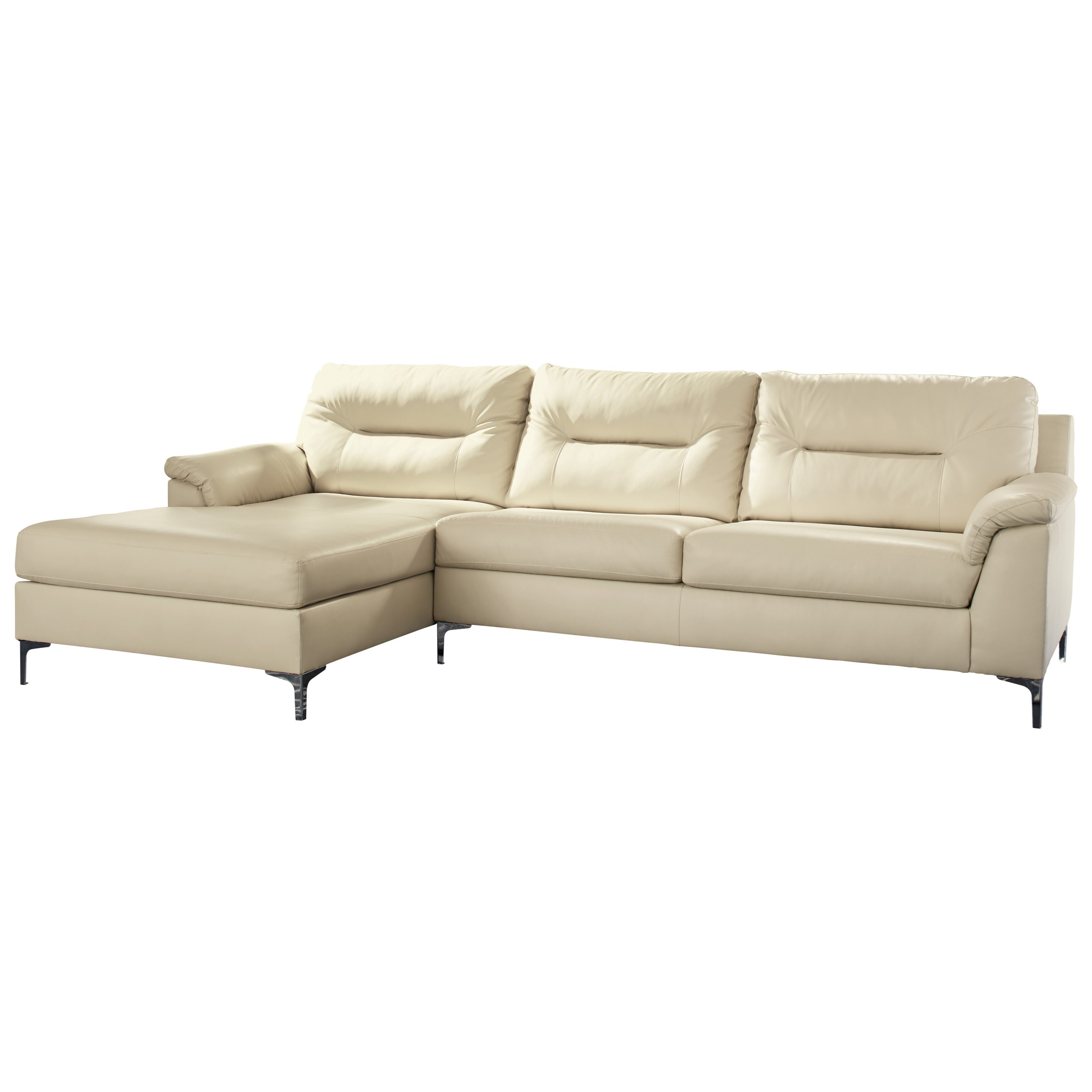 Signature Design by Ashley Tensas Sectional - Item Number: 3960216+67