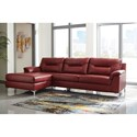 Signature Design by Ashley Tensas Contemporary 2- Piece Sectional