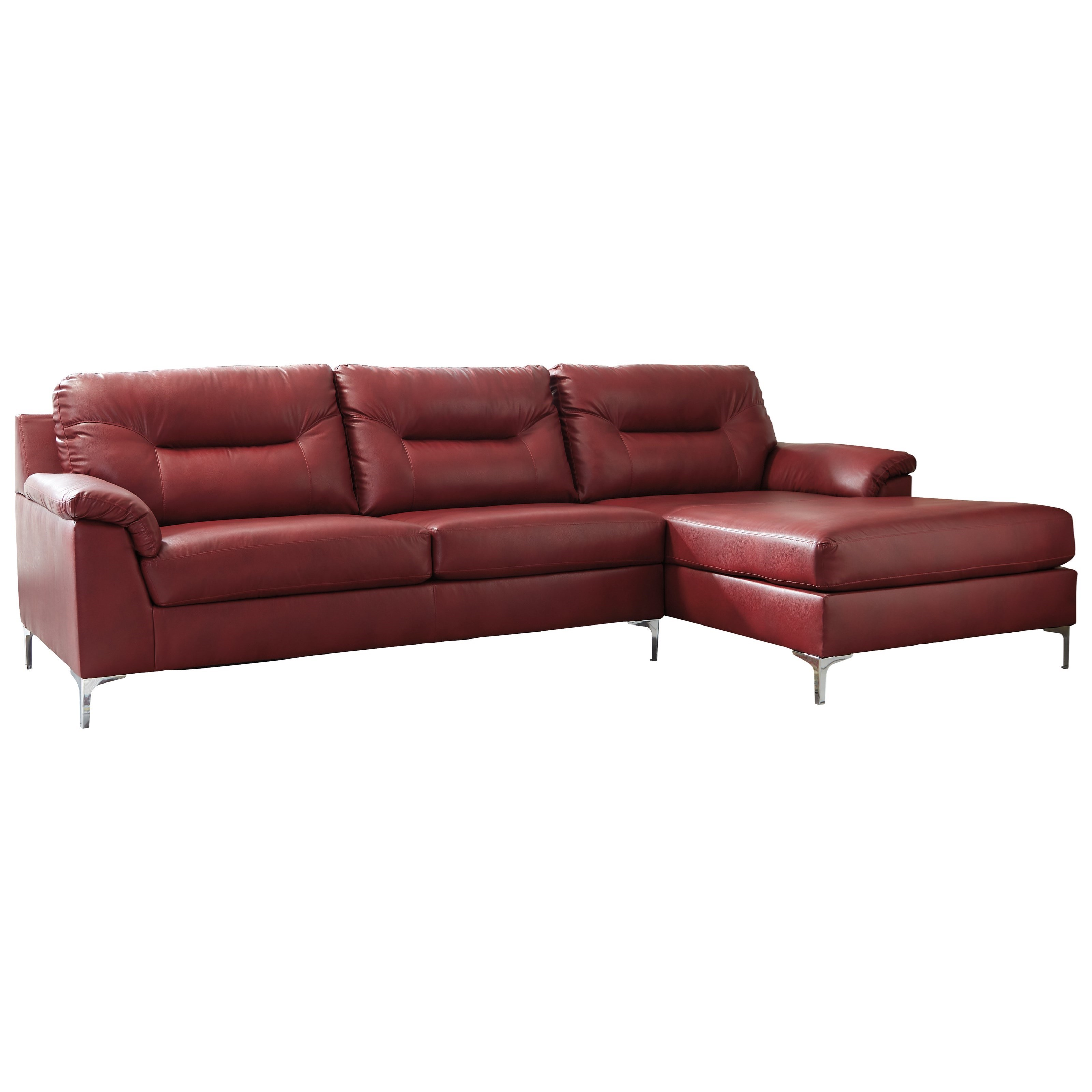 Signature Design by Ashley Tensas Sectional - Item Number: 3960366+17