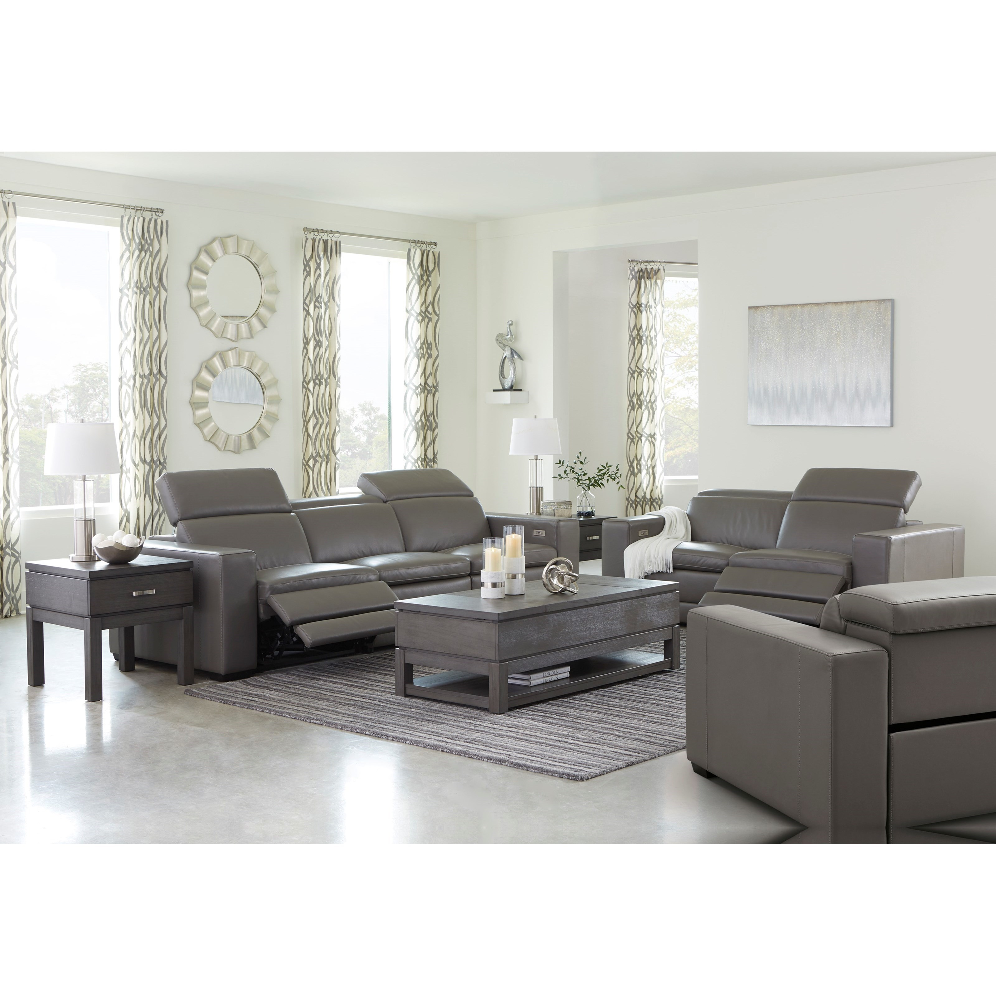Texline Power Reclining Living Room Group by Signature Design by Ashley at Home Furnishings Direct