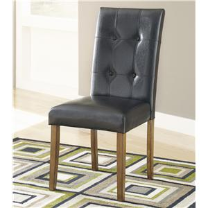 Signature Design by Ashley Theo Upholstered Side/Desk Chair