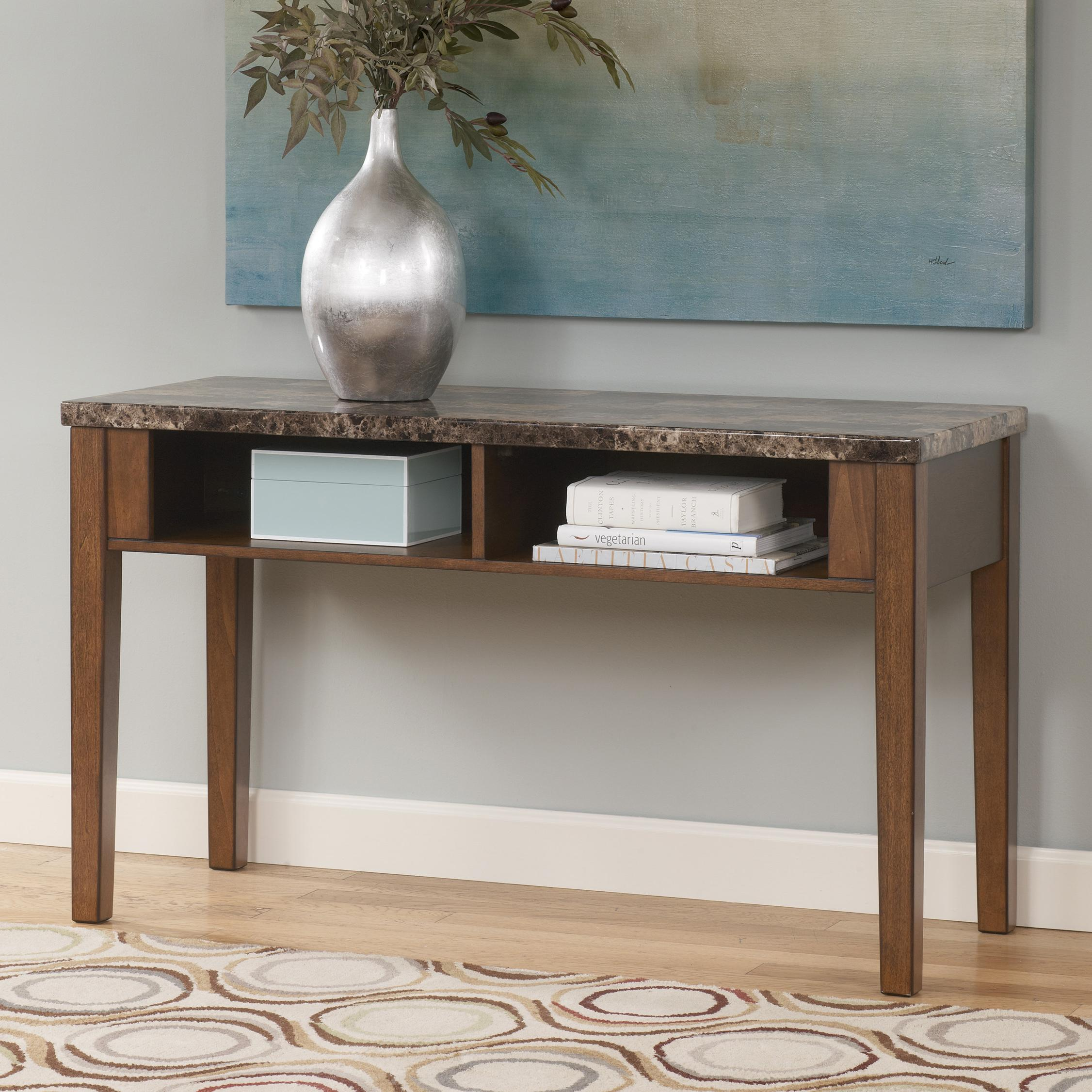 Signature Design by Ashley Theo Sofa Table / Console - Item Number: T158-4