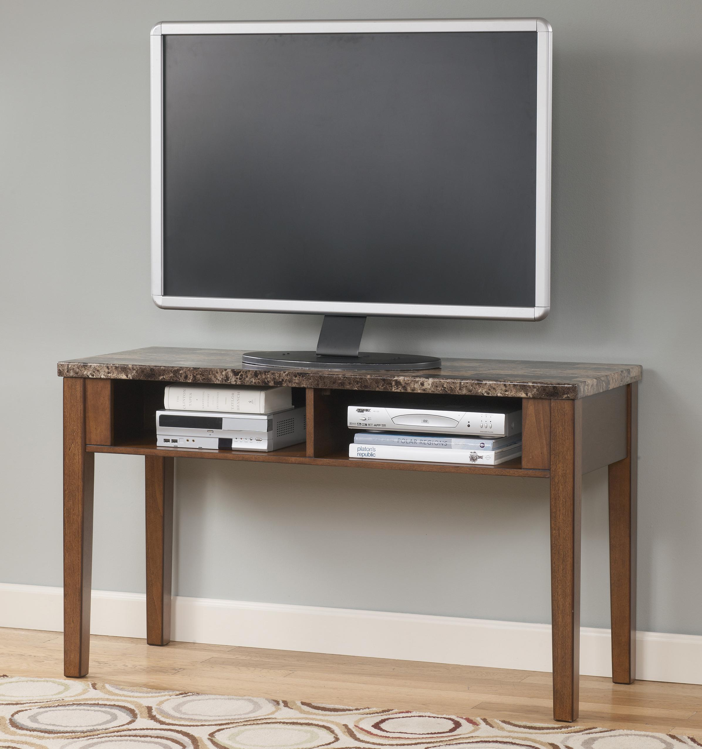 Signature Design By Ashley Theo T158 4 Sofa Table Tv