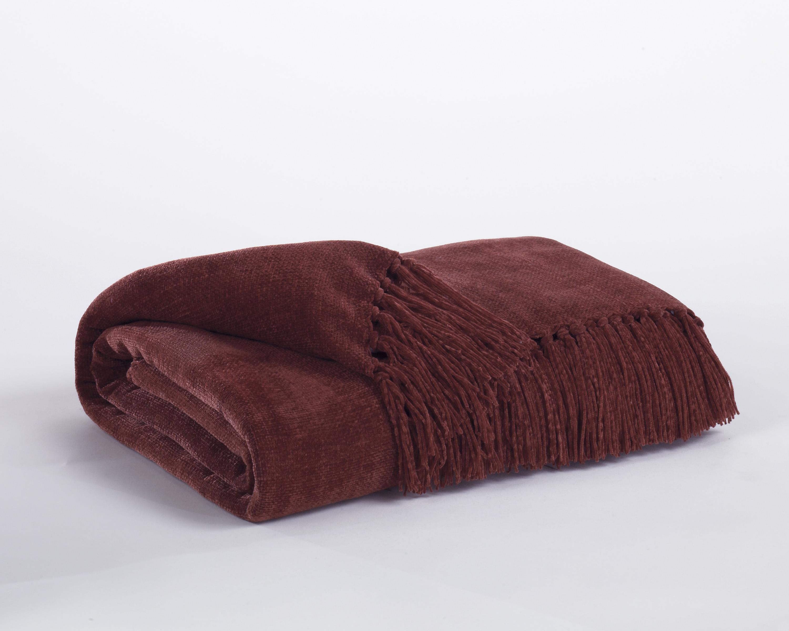 Signature Design by Ashley Throws Revere - Burgundy Throw - Item Number: A1000032T