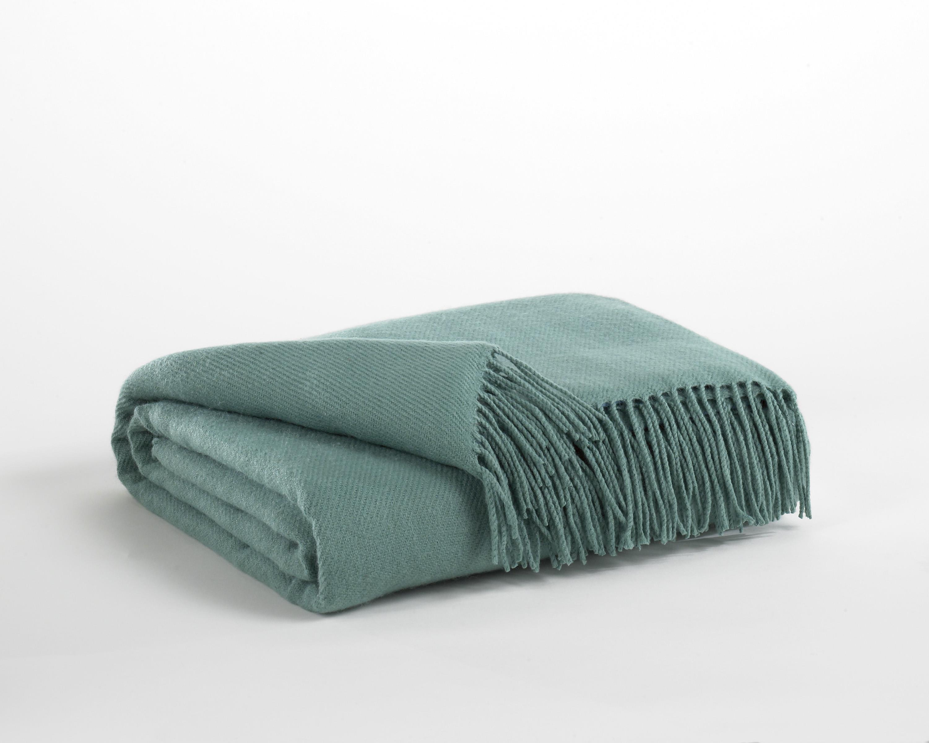 Signature Design by Ashley Throws Ashton - Aqua Throw - Item Number: A1000195T
