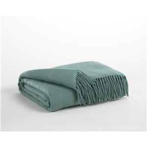 Signature Design by Ashley Throws Ashton - Aqua Throw