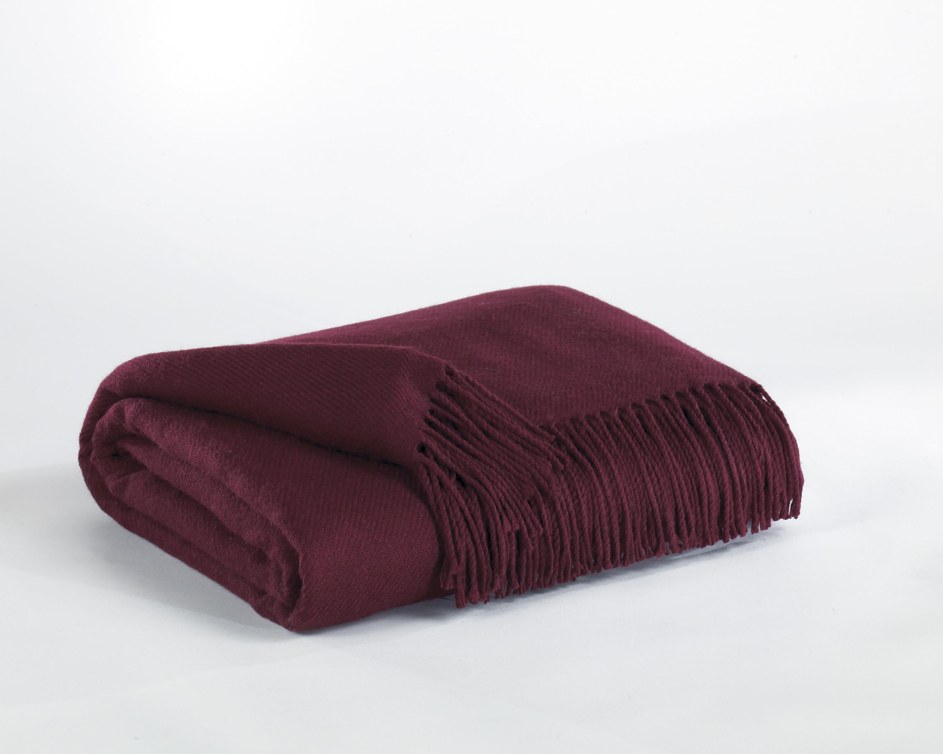 Signature Design by Ashley Throws Ashton - Burgundy Throw - Item Number: A1000199T