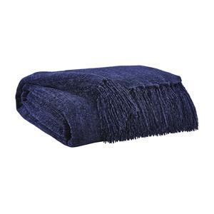 Signature Design by Ashley Throws Danicio - Navy Throw