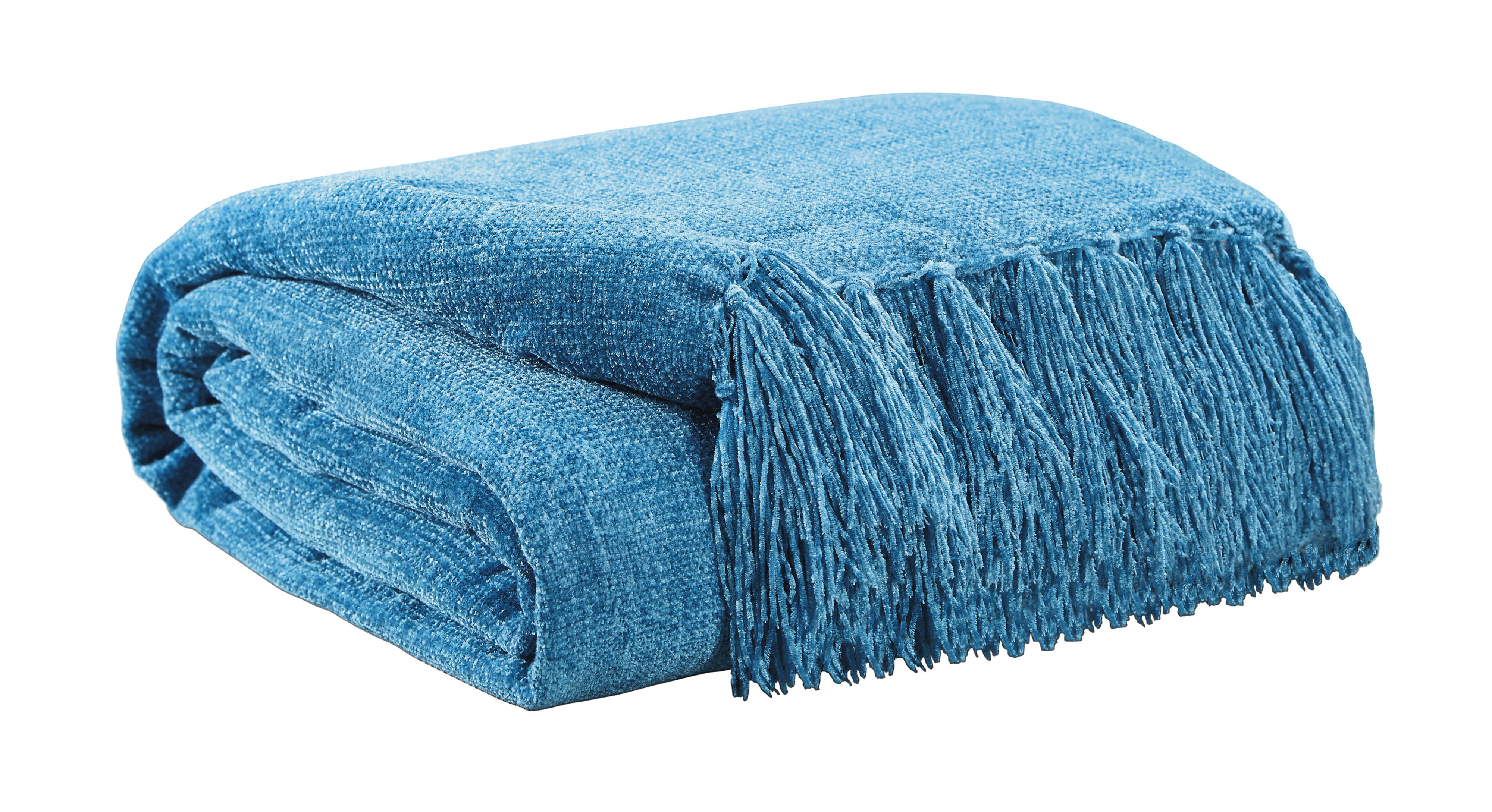 Signature Design by Ashley Throws Danicio - Teal Throw - Item Number: A1000526T