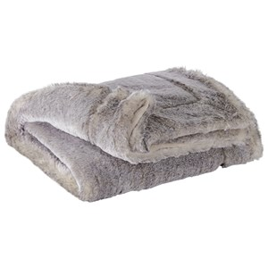 Raegan Gray/Tan Throw
