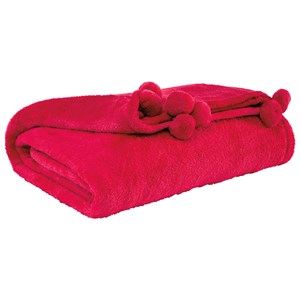 Signature Design by Ashley Throws Aniol - Fuchsia Throw