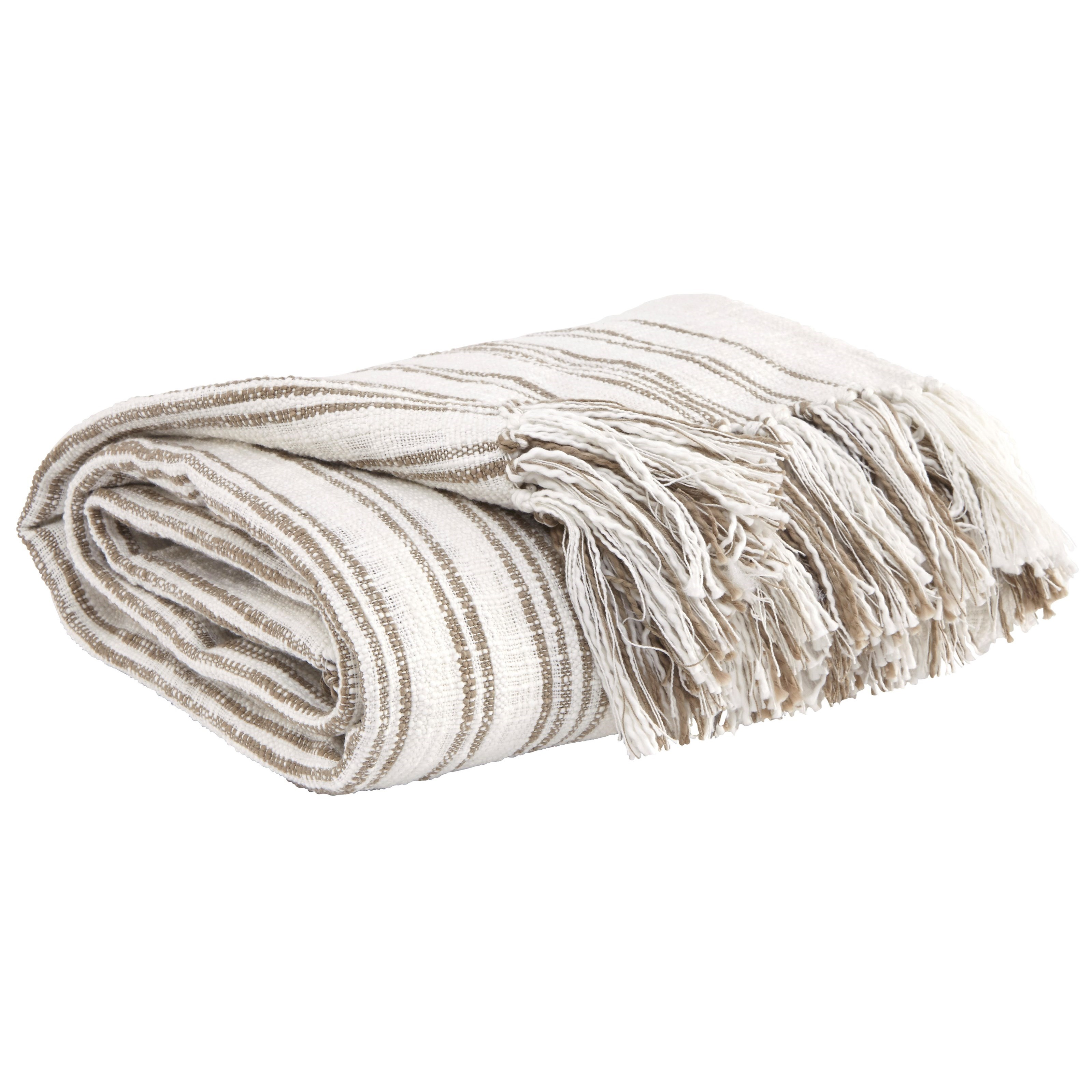 Signature Design by Ashley Throws Callumn - Beige Throw - Item Number: A1000629T