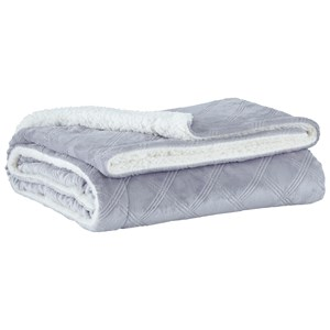 Asaka Gray Throw