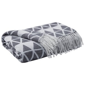 Signature Design by Ashley Throws Noemi - Slate Throw