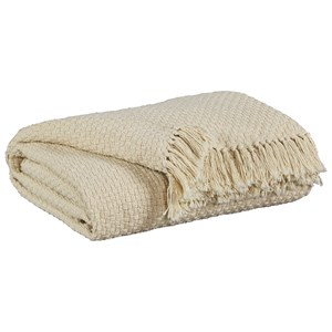 Yasmin Oatmeal Throw