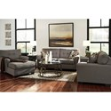 Signature Design by Ashley Tibbee Stationary Living Room Group - Item Number: 99101 Living Room Group 3