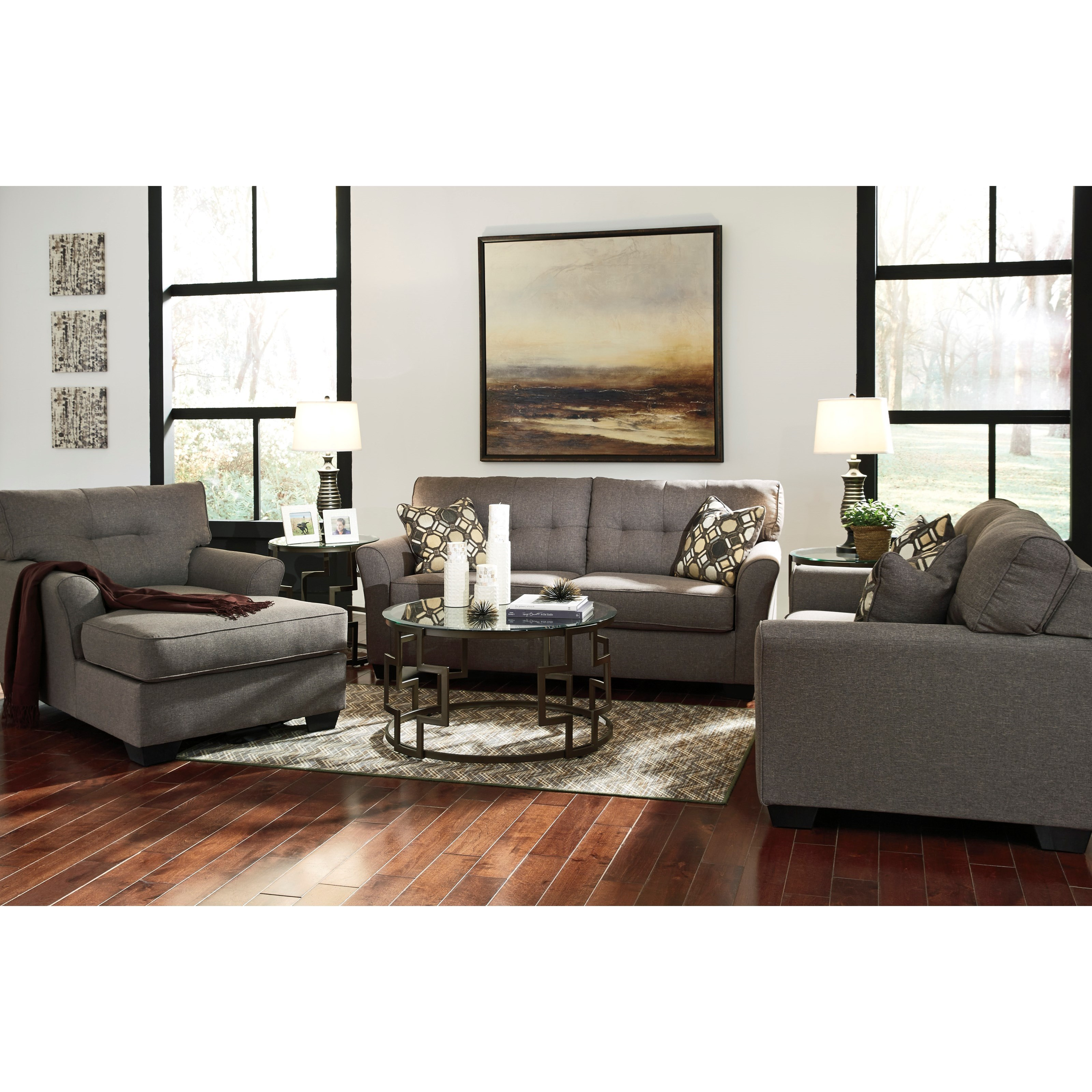 Furniture By Ashley: Signature Design By Ashley Tibbee 9910115 Contemporary