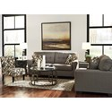 Signature Design by Ashley Tibbee Contemporary Slipper Style Accent Chair