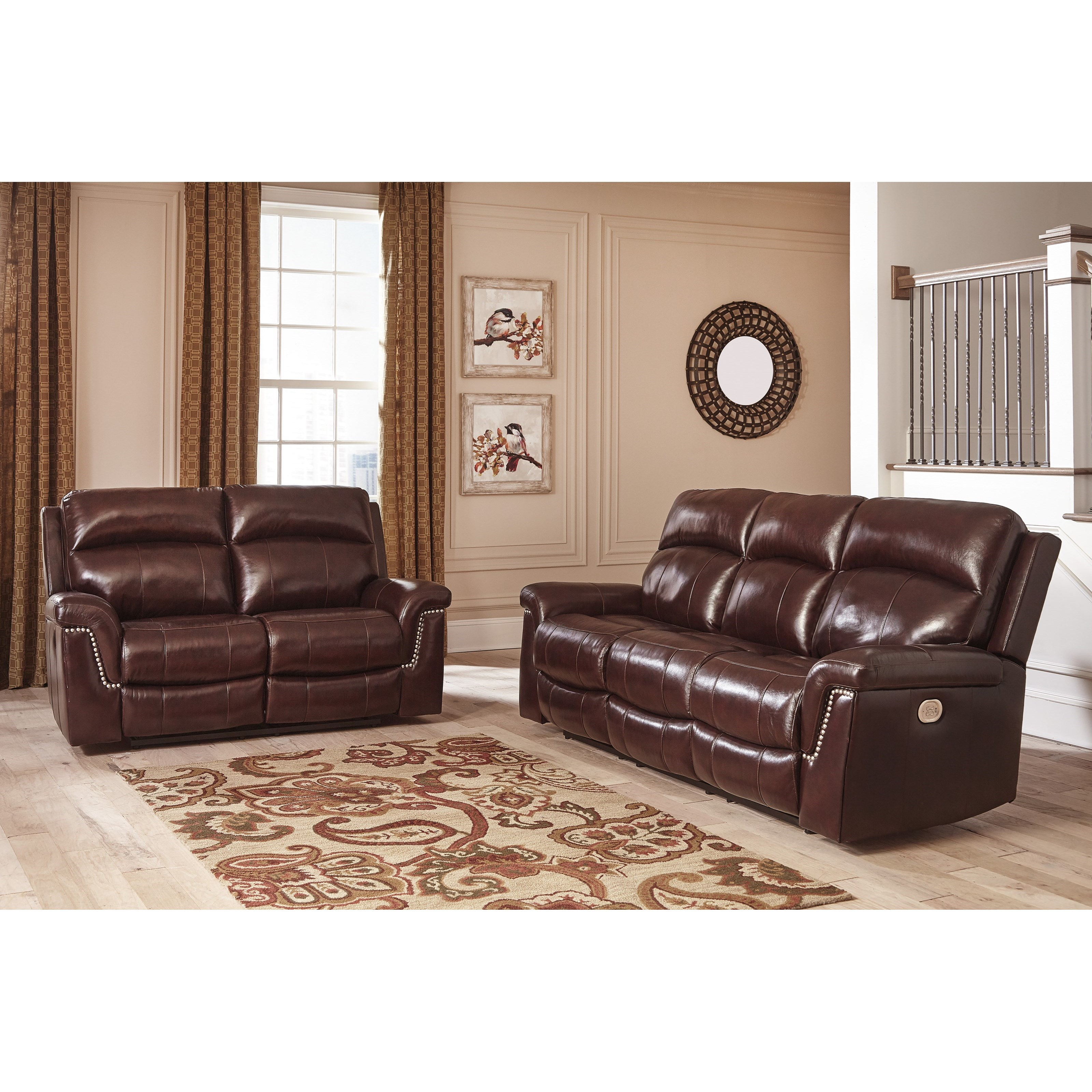 Signature Design by Ashley Timmons Reclining Living Room Group - Item Number: 74501 Reclining Living Room Group 1