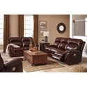 Signature Design by Ashley Timmons Reclining Living Room Group - Item Number: 74501 Reclining Living Room Group 2