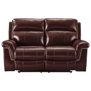 Signature Design by Ashley Timmons Power Reclining Loveseat