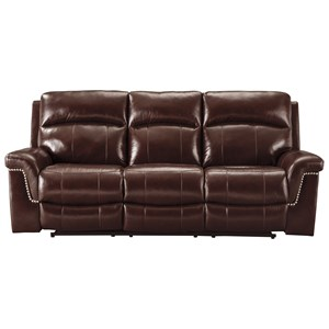 Signature Design by Ashley Timmons Power Reclining Sofa