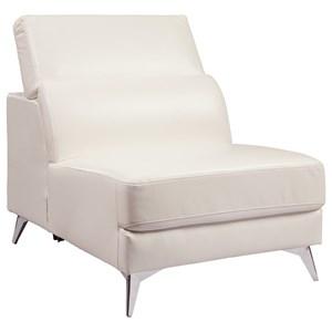 Ashley Signature Design Tindell Armless Chair