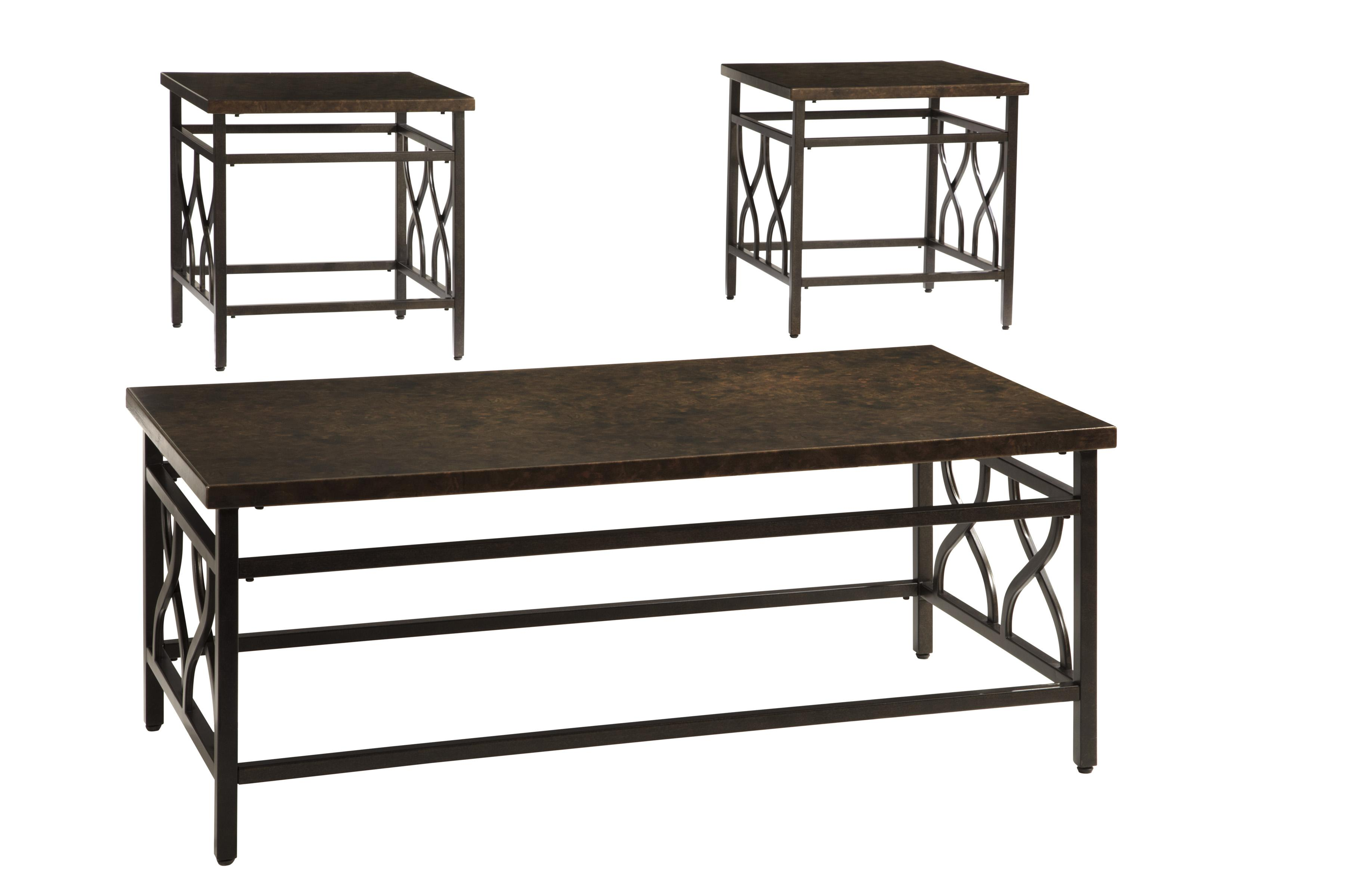 Signature Design by Ashley Tippley Occasional Table Set  - Item Number: T269-13