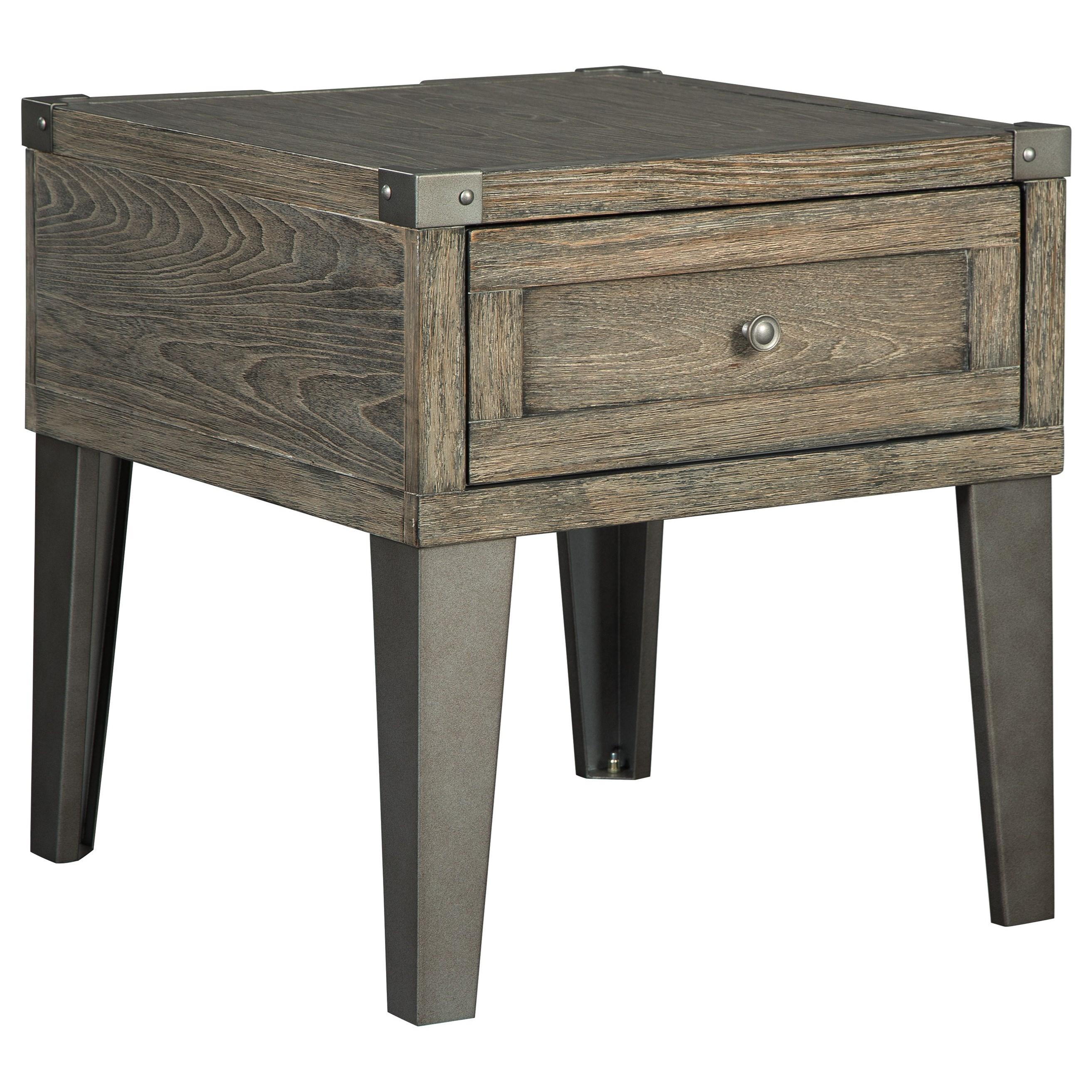 Chazney Rectangular End Table by Signature Design by Ashley at Beck's Furniture