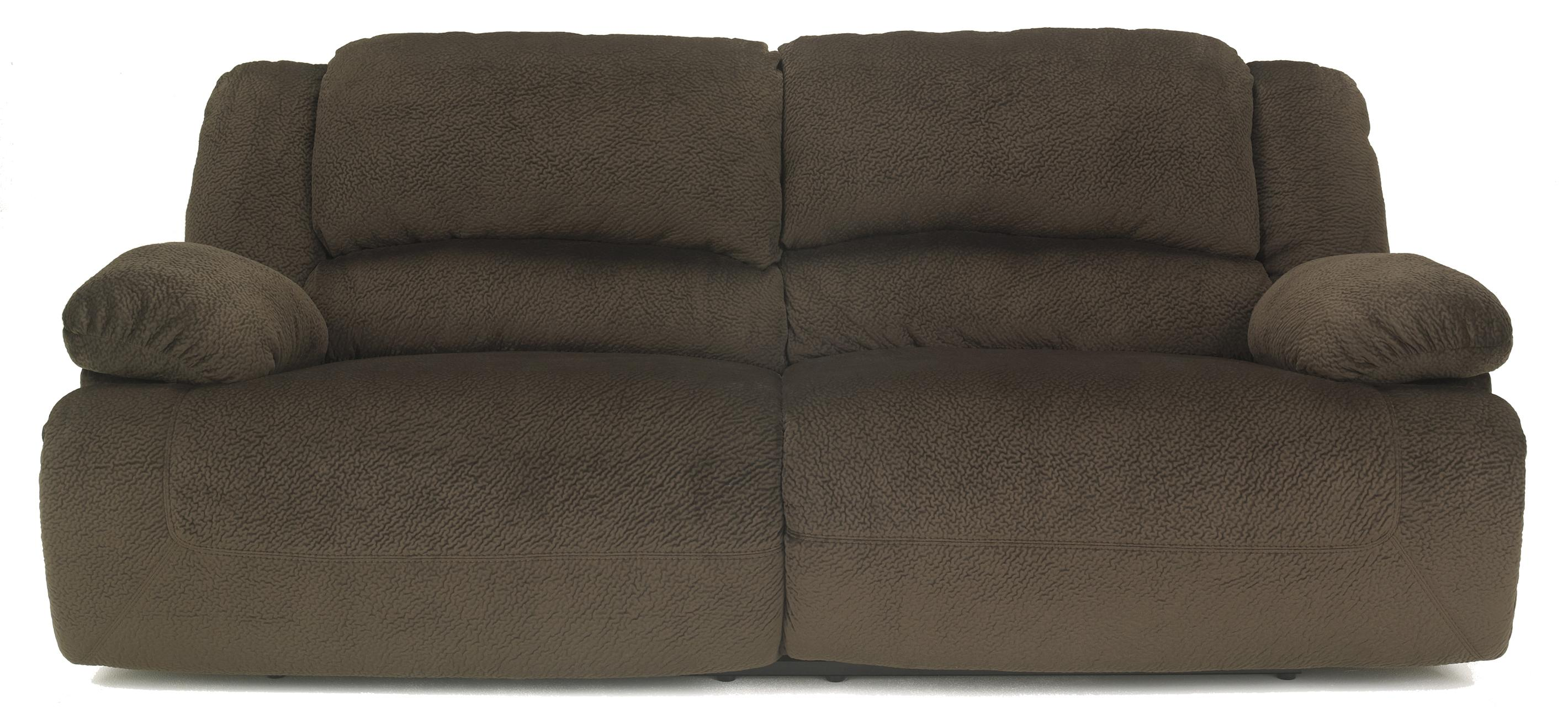 Signature Design by Ashley Toletta - Chocolate 2 Seat Reclining Sofa - Item Number: 5670181