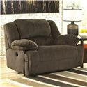 Signature Design by Ashley Toletta - Chocolate Wide Seat Power Recliner - Item Number: 5670182